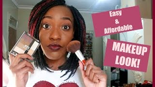Easy & Affordable Makeup Look! | Nyemba