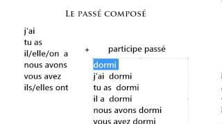 Français Avec Rabbani (Passé composé)