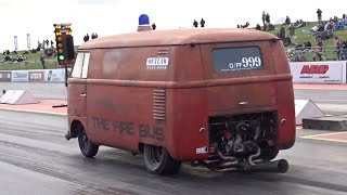 Quickest VW Air Cooled Bus in Europe - 11.422 @ 117mph