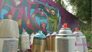 Graffitti Art At Bonnaroo