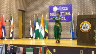NADA VINODAM _ SAGARA SANGAMAM - Nalini Parimi the rising star of America! CHAK DE INDIA