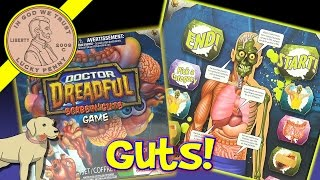 Doctor Dreadful Scabs & Guts Game - Learn About Intestines, Brains, Lungs & Liver!