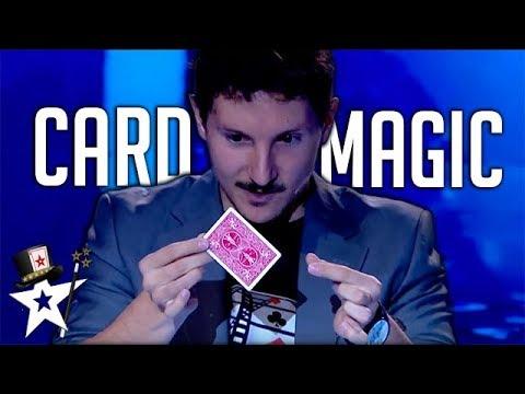 Card Magician Does Close-up Magic | Got Talent Greece 2018 | Magicians Got Talent