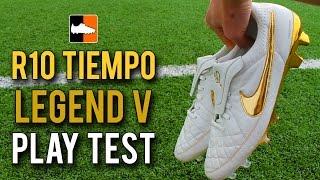 Nike '10R Ronaldinho' Tiempo Legend V Premium Play Test Touch of Gold Feat. IFootballHD