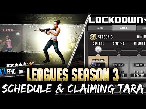 Xxx Mp4 TWD RTS Claiming Tara Leagues Season 3 Schedule The Walking Dead Road To Survival 3gp Sex