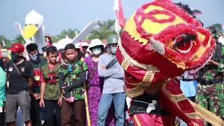 Pawai Budaya Tanpa Rasis Di Dharmasraya