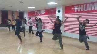 ZABRA FAN choreography shahrukh khan movie fan @ Thump Dance Studio, GWALIOR