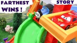 Peppa Pig Play Doh Race Story Thomas And Friends Disney Cars Mickey Mouse Hello Kitty Plastilina