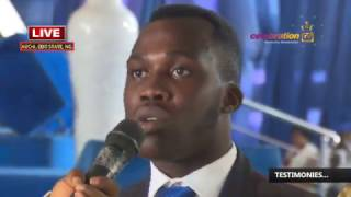 LIVE SUNDAY SERVICE 12TH MARCH 2017 - With APOSTLE JOHNSON SULEMAN