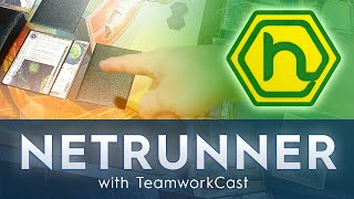 Hiveworld Store Championship 2016 - #9 - Haarp Derp - Netrunner With TeamworkCast