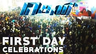 Theri 100cr Mass Celebration | crowd response | Ram Cinemas | VJ fans must watch