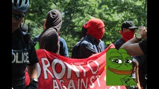 Supporters of Halifax Five Troll Communists/ANTIFA