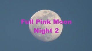 Full Pink Moon 2016