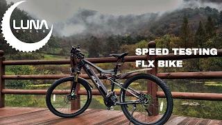 Speed Testing a FLX Ebike