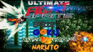 Goku VS Naruto: Sprite Battle - USF - Battle of Transformations