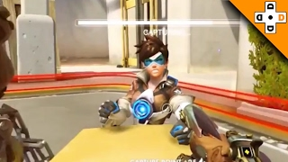 Overwatch FUNNY & EPIC Moments 21 - TRACER WANTS TO ARM WRESTLE! - Highlights Montage