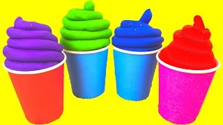 Play Doh Ice Cream Toys for Kids Squishy Balls Play Foam Eggs Surprise Toys