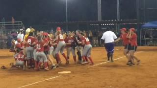 Hazel Green wins 6A softball title