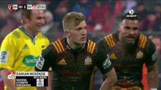 2017 Super Rugby SF - Crusaders v Chiefs