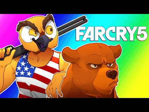 Far Cry 5 Funny Moments Wildcat s American Tour