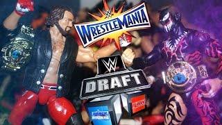 ULTIMATE WWE FIGURE WRESTLEMANIA DRAFT!