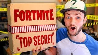 FORTNITE sent me a  *SECRET PACKAGE* - WHAT'S INSIDE?
