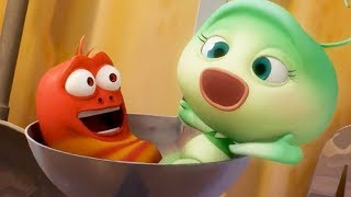 LARVA - MAYFLY PART 1 AND 2 | Cartoon Movie | Cartoons For Children | Larva Cartoon | LARVA