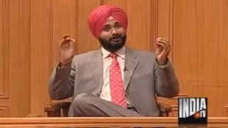 Navjot Singh Sidhu In Aap Ki Adalat (Part 1) - India TV
