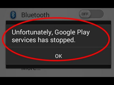 How to fix unfortunately google play services has stopped working in android