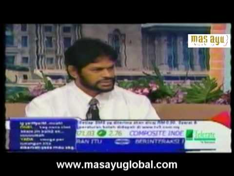 Prof. Dr. Ananthan Krishnan talk show on Natural Healthcare in Malay