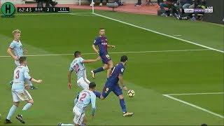 ملخص مبارة برشلونة  و سيلتا فيغو   2-2    الدوري الإسباني    2-12-2017 HD