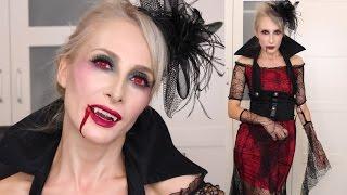 Halloween Gothic Vampire Makyajı | Sebi Bebi