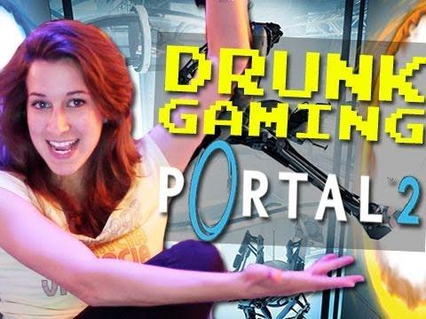 Drunk Gaming Portal 2