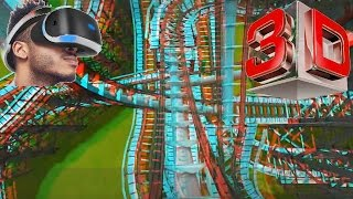 3D - Roller Coaster Tycoon 3 -  Stereo 3D anaglyph Test  Red Cyan Glasses