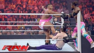 The New Day vs. The Vaudevillains: Raw, May 30, 2016
