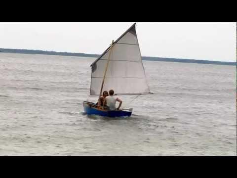 как самому сделать лодку с парусом