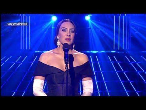 Tu Cara Me Suena Mónica Naranjo imita a María Callas