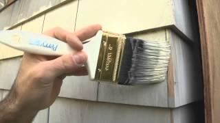 How To Prime Cedar Siding To Control Bleeding Tannins and Other Staining Problems