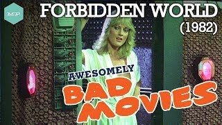 FORBIDDEN WORLD (1982) - Awesomely Bad Movies