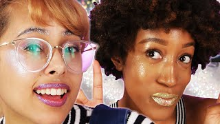 The Ultimate Glitter Makeup Challenge