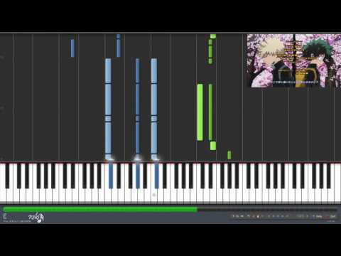 Download Boku no Hero Academia Opening - The Day (Synthesia)