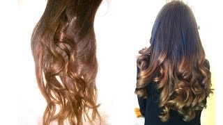 how to ombr hair maison easy - Tie And Dye Coloration Maison