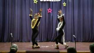 Танец «Кошечек» (Корж Екатерина, Короленко Полина)