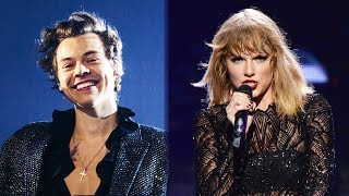 Harry Styles TEASES Fans With Taylor Swift Lyrics At His Concert
