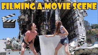 Filming a Movie Scene 🎬 (WK 337.6) | Bratayley
