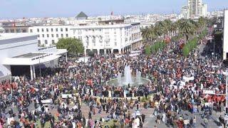 مسيرة الرباط.. المغاربة يصرخون في وجه بان كي مون