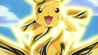 Pikachu & Swellow VS Lunatone & Solrock