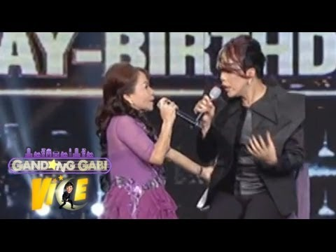 Mommy Dionisia Pacquiao sings 'Wrecking Ball' with Vice Ganda