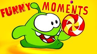Om Nom Stories - Cut the Rope  - Compilation Funny Moments 2 - Kedoo ToonsTV