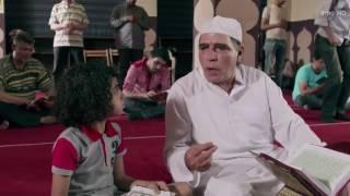 """المشهد الرائع ده هيفيد الكبير قبل الصغير /- احنا بنصوم لية """" مسلسل رمضان كريم"""